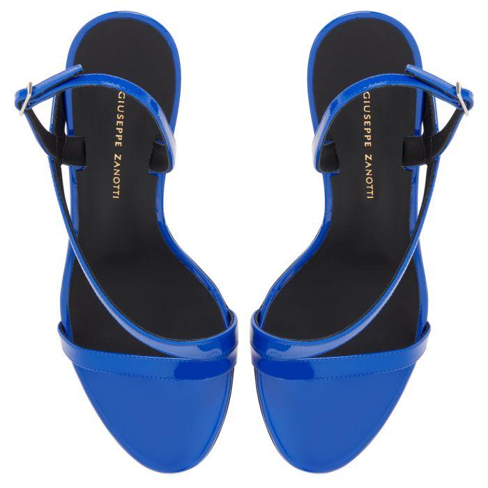 POLINA - Bleu - Sandales