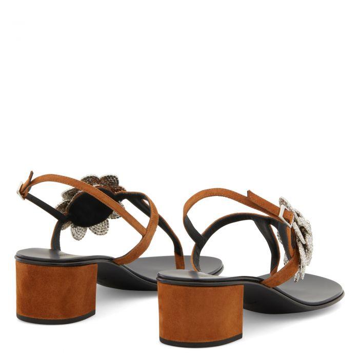 PHOEBE - Marron - Sandales
