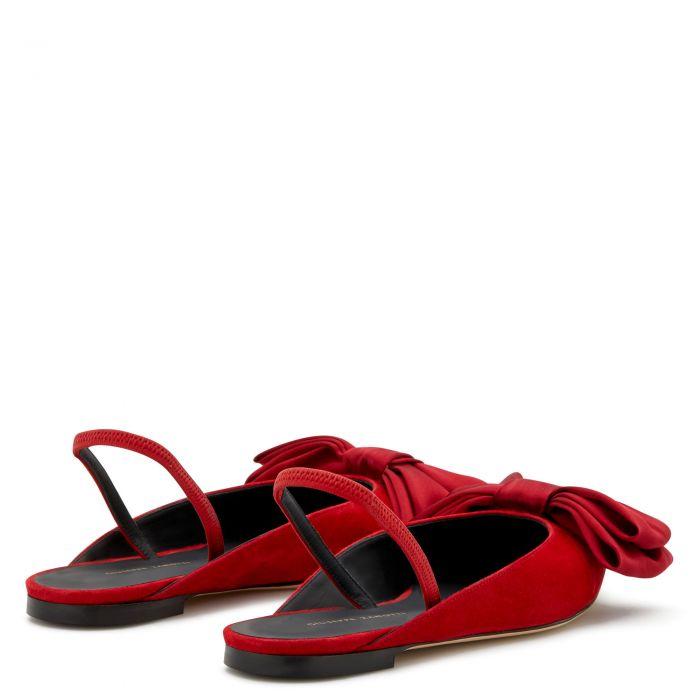 JOHANNA - Red - Flats