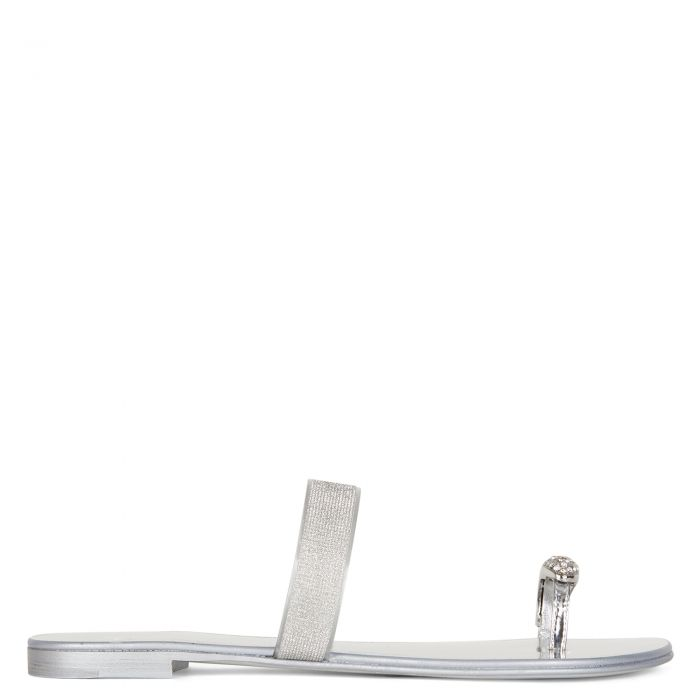 RING PLEXY - Silver - Flats