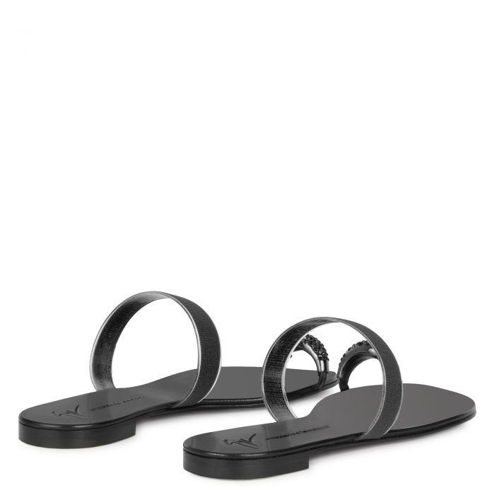 RING PLEXY - Black - Flats