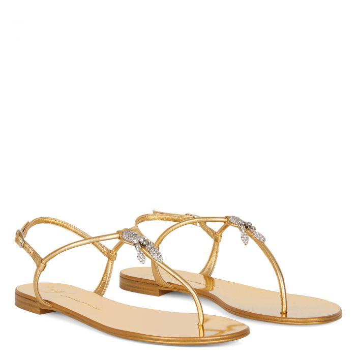 SAGITTA - Gold - Flats