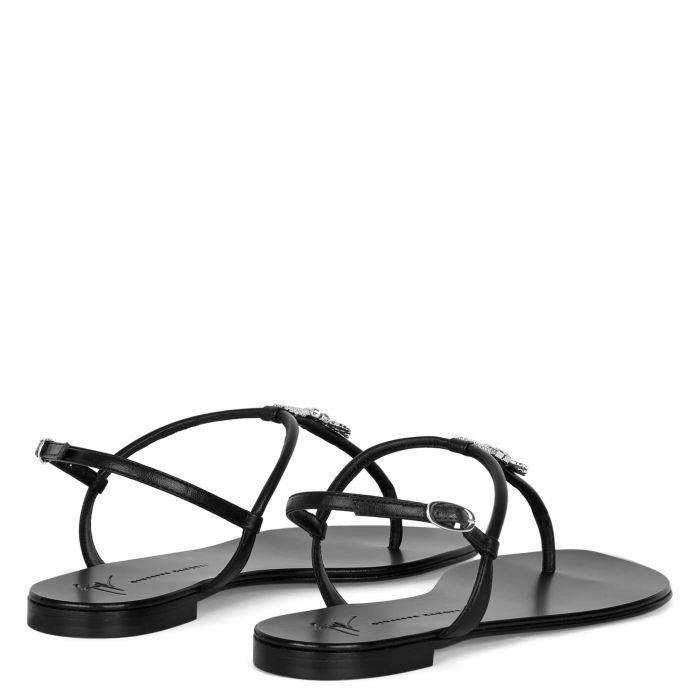 SAGITTA - Black - Flats