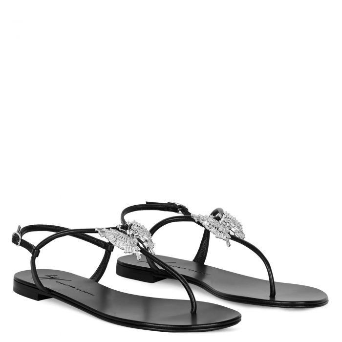 FARIFUˋ - Schwarz - Flache Schuhe