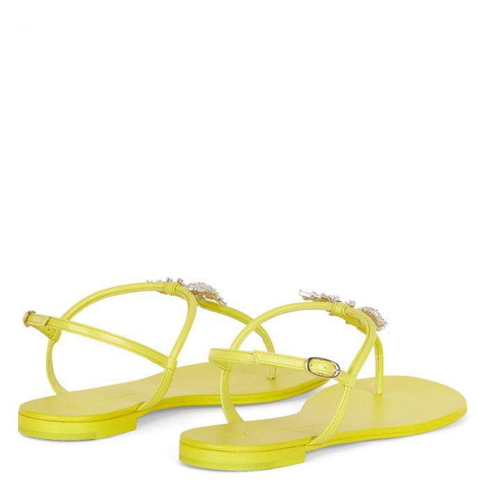 FARIFUˋ - Yellow - Flats