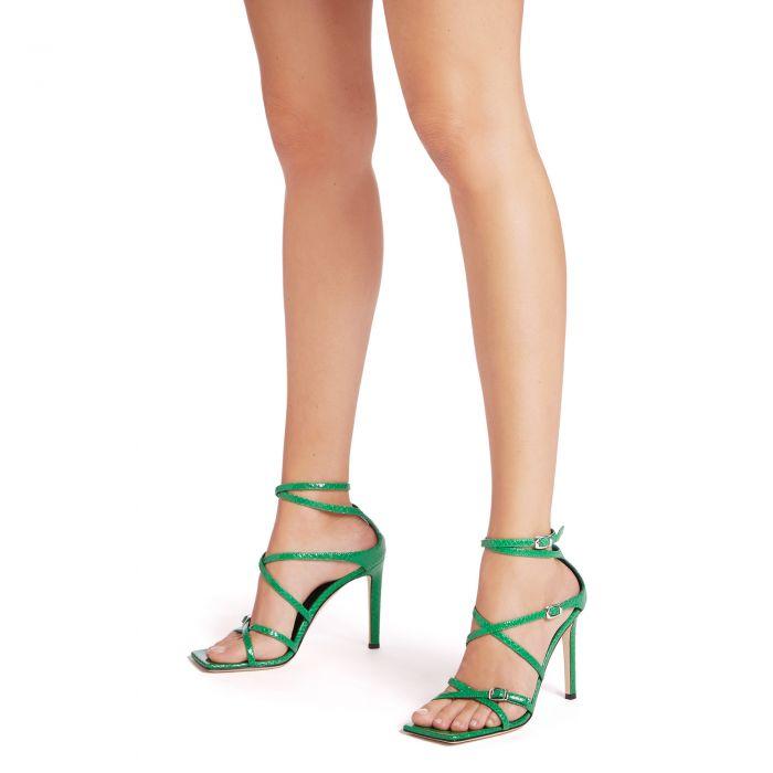 VANILLA SOFT PUNK - Green - Sandals