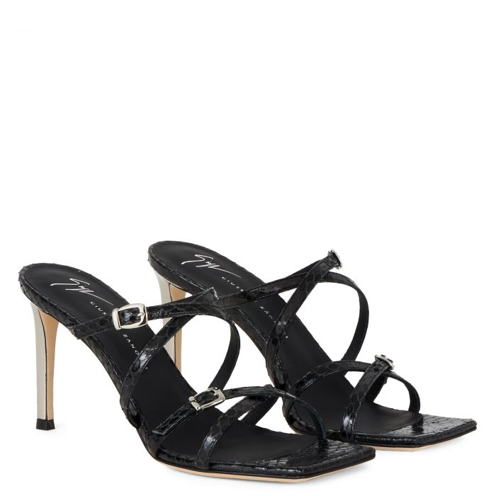 VANILLA SOFT PUNK - Black - Sandals