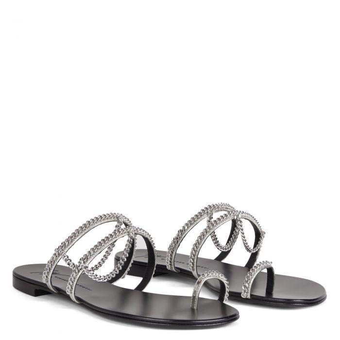 CATENA - Silver - Flats