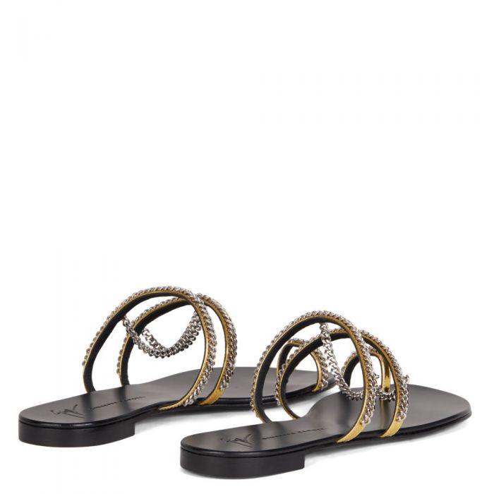CATENA - Gold - Flats