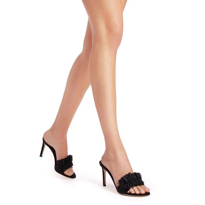 NAUSICAA MULE - Black - Sandals