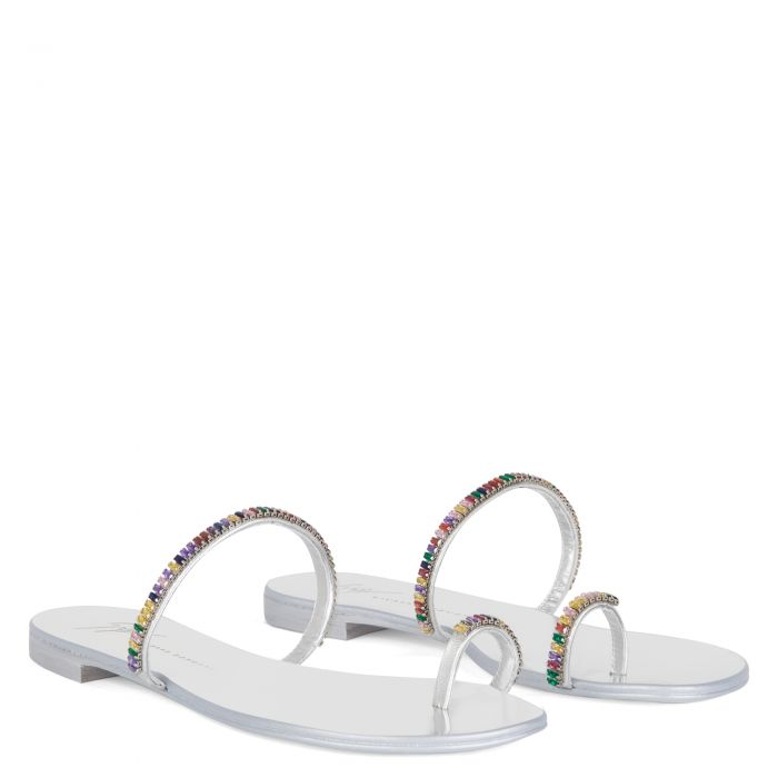 COLORFUL - Silver - Flats
