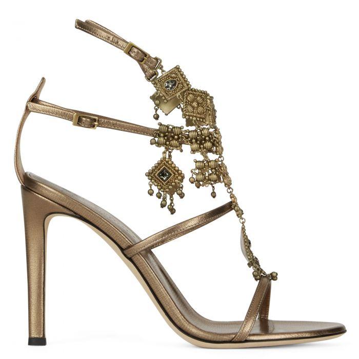 AMIRA - Bronzefarben - Sandalen