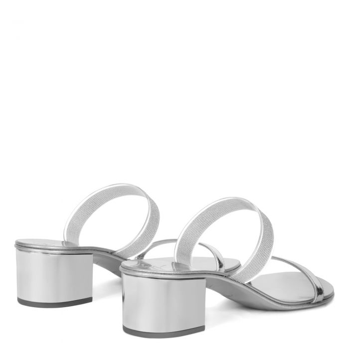 MARTA 40 - Silver - Sandals