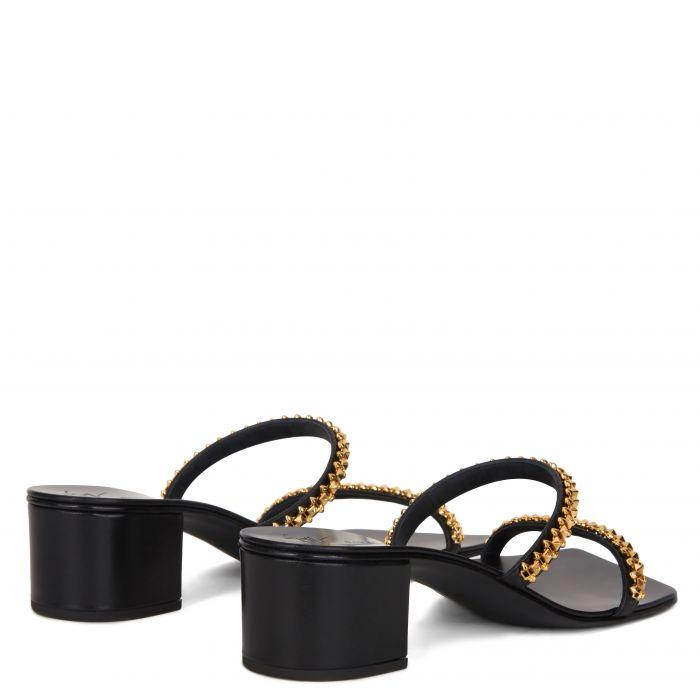 NERISSA 40 - Black - Sandals