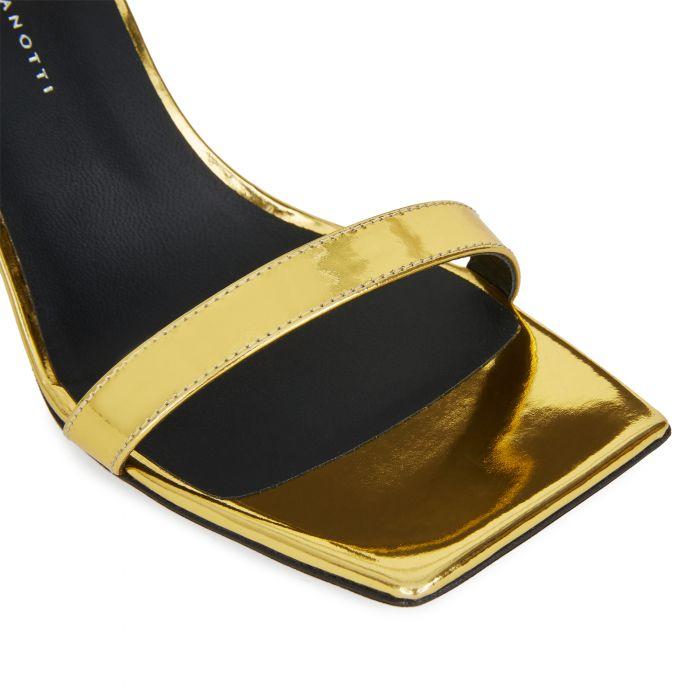 FLAMINIA - Gold - Sandals
