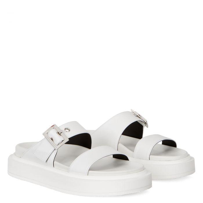 JOLANDA - White - Flats