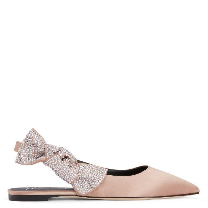 EURIDICE - Pink - Flache Schuhe