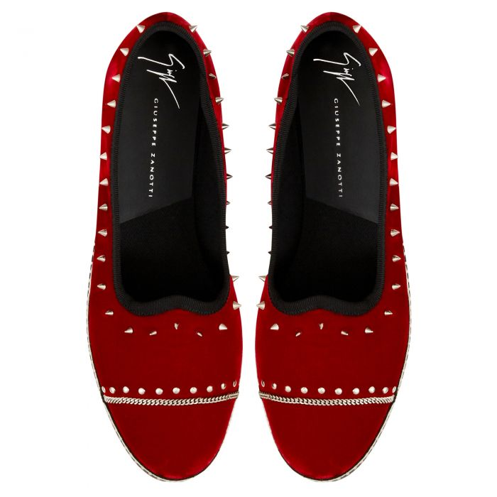 OTIUM - Red - Loafers