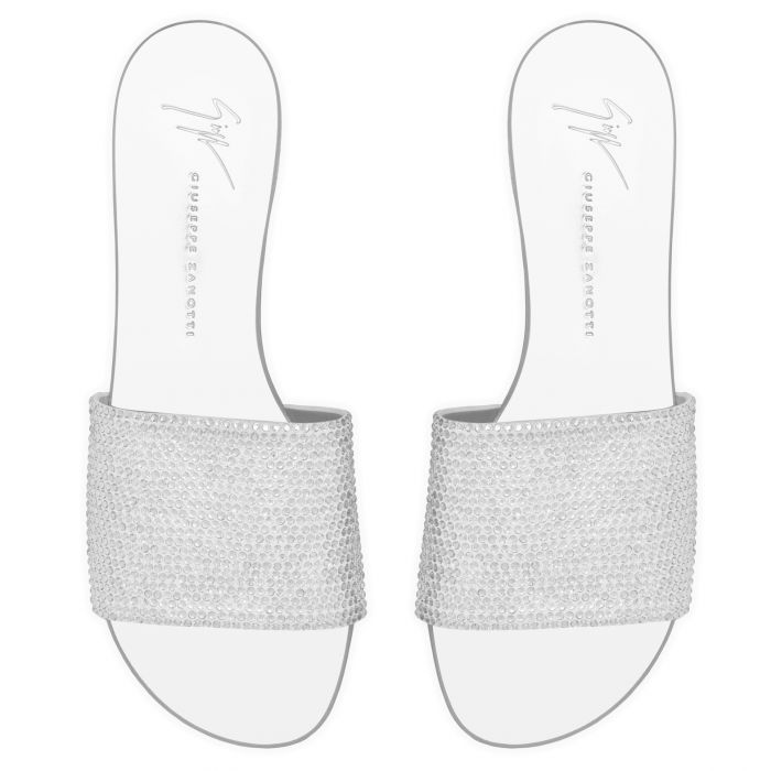 ADELIA - Silberfarben - Flache Schuhe