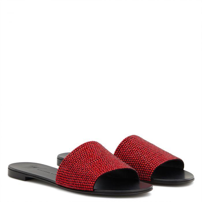 ADELIA - Red - Flats