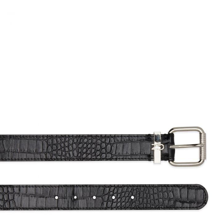 MAXIMILIAN - Black - Belts