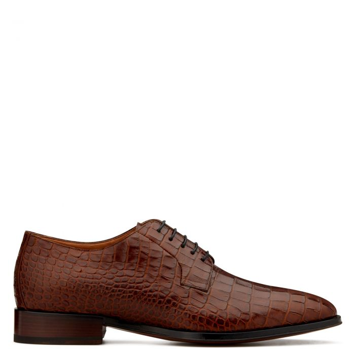 MOORE - Brown - Lace up