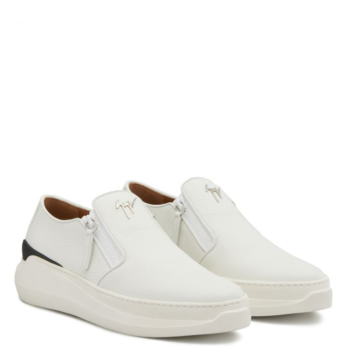 CONLEY ZIP - White - Loafers