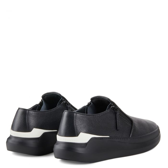 CONLEY ZIP - Black - Low top sneakers
