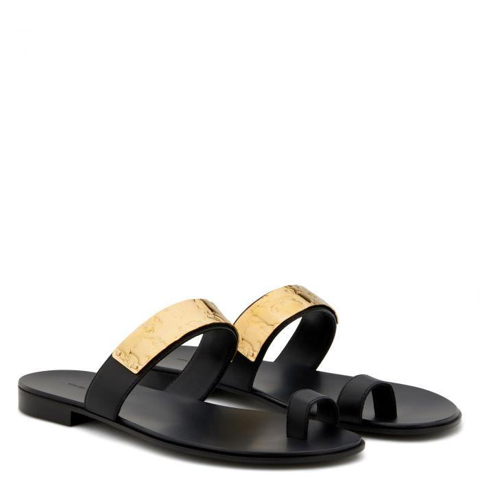 NED - Black - Sandals