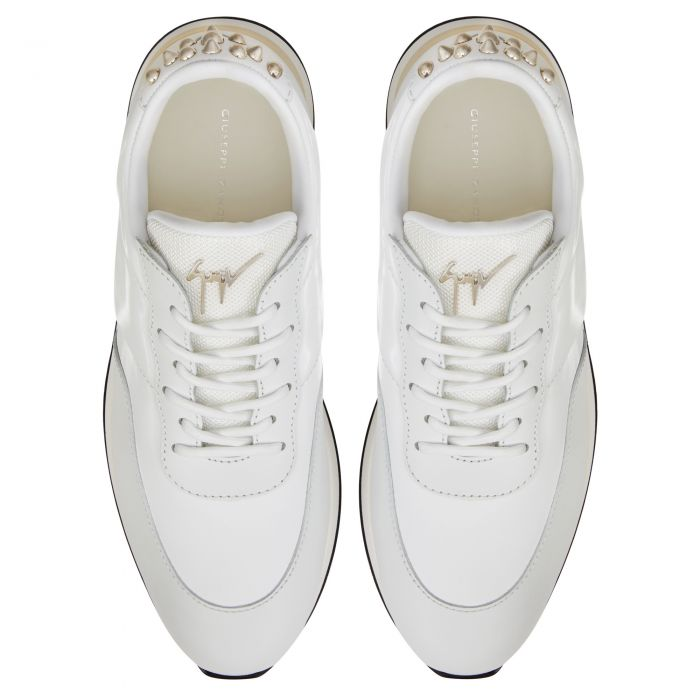 JIMI RUNNING STUDS - White - Loafers