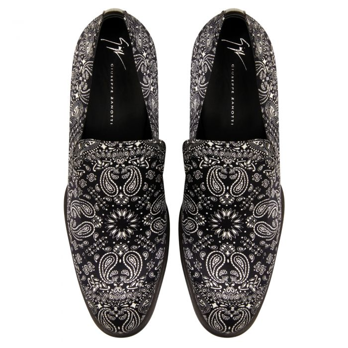 GARRISON PAISLEY - Black - Loafers