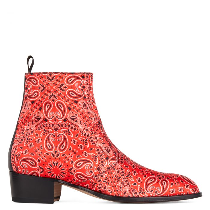 SHELDON PAISLY - Red - Boots