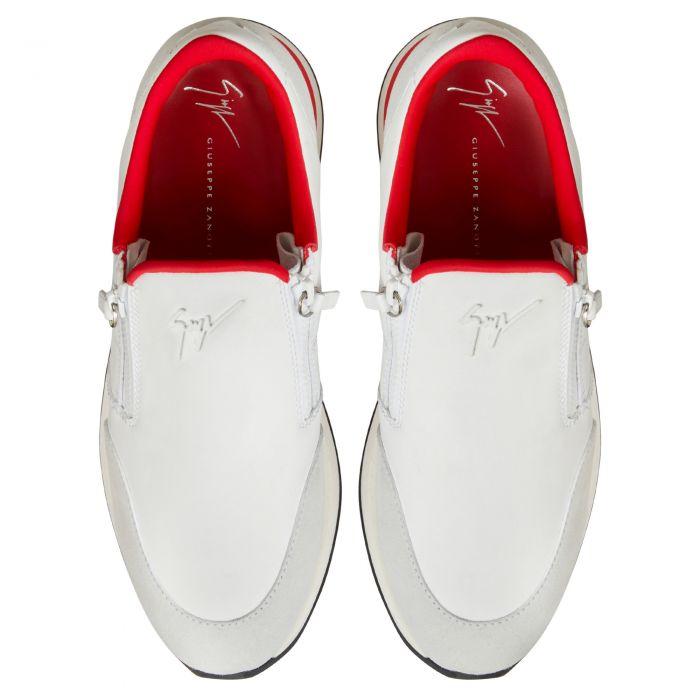 JIMI ZIP - Blanc - Sneakers basses