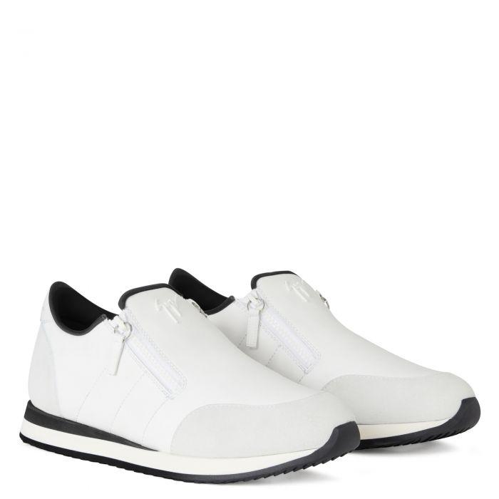 JIMI ZIP - Bianco - Sneaker basse