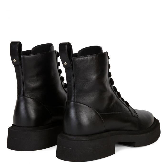 ACHILLE - Noir - Bottes