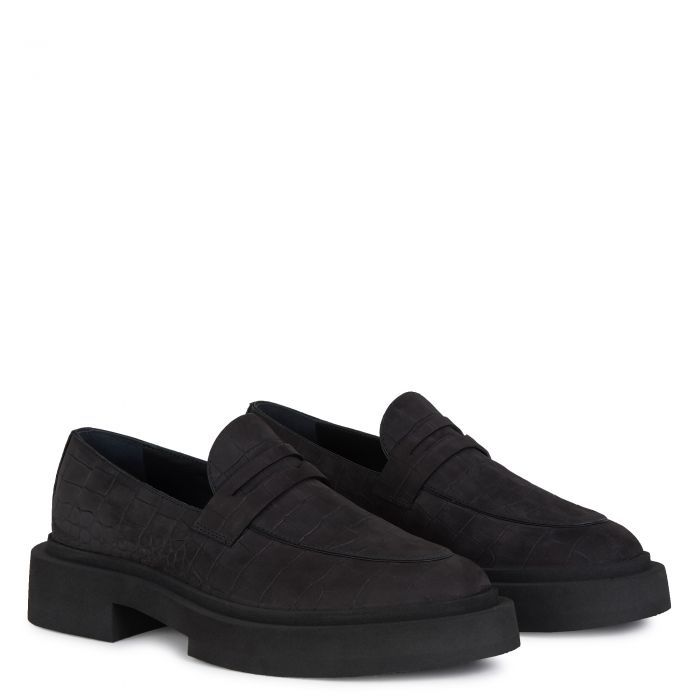 ACHILLE - Black - Loafers