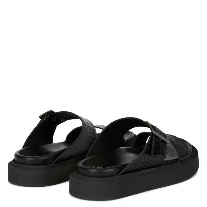 LIVIO - Black - Flats