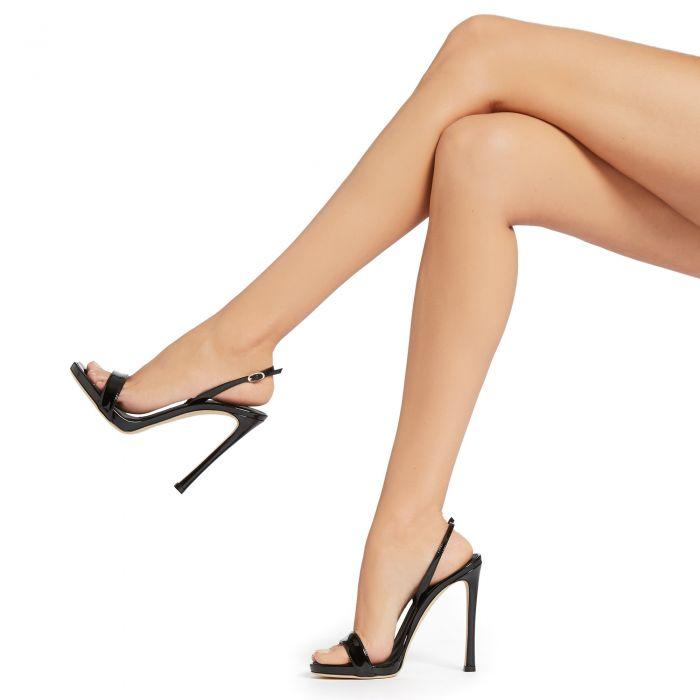 SOPHIE - BLack - Sandals