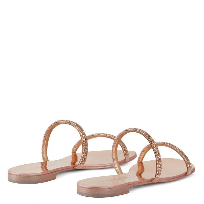 CROISETTE CRYSTAL - Pink - Flats