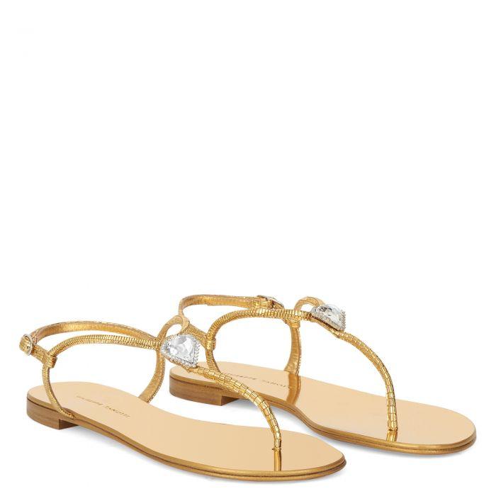 LICIA - Gold - Flats