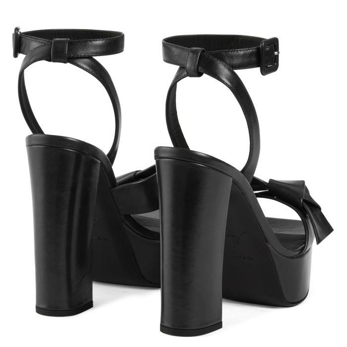 LAILA - BLack - Sandals