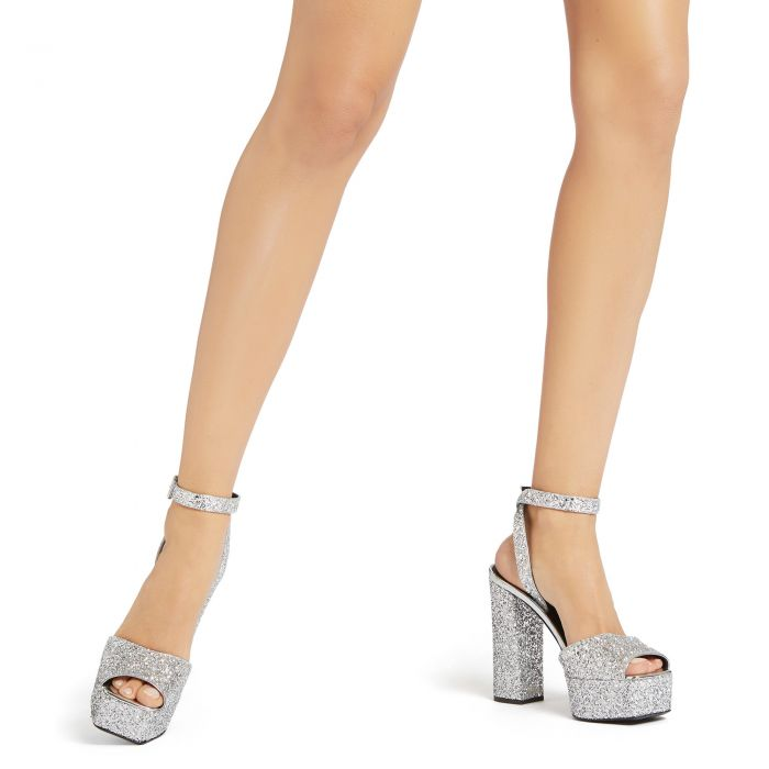 NEW BETTY - Silver - Sandals