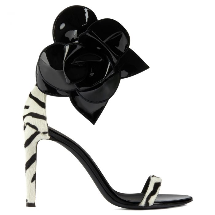 SIUXSIE - Black and white - Sandals