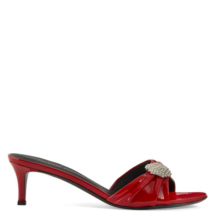 REEVA - Red - Sandals