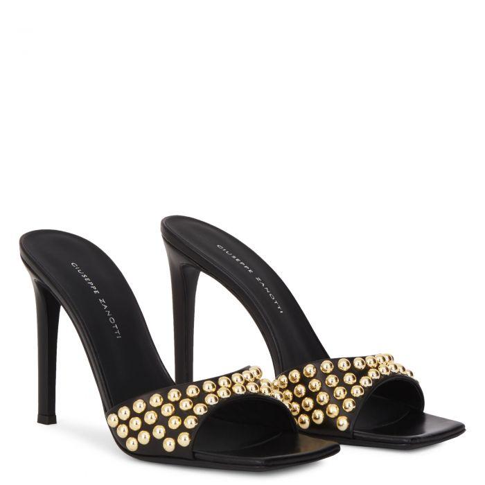 VANILLA STUDS - Black - Sandals