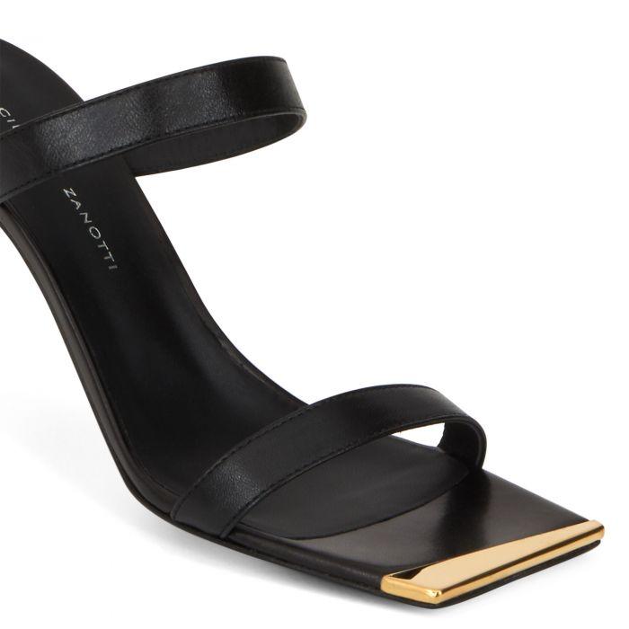VANILLA - Black - Sandals
