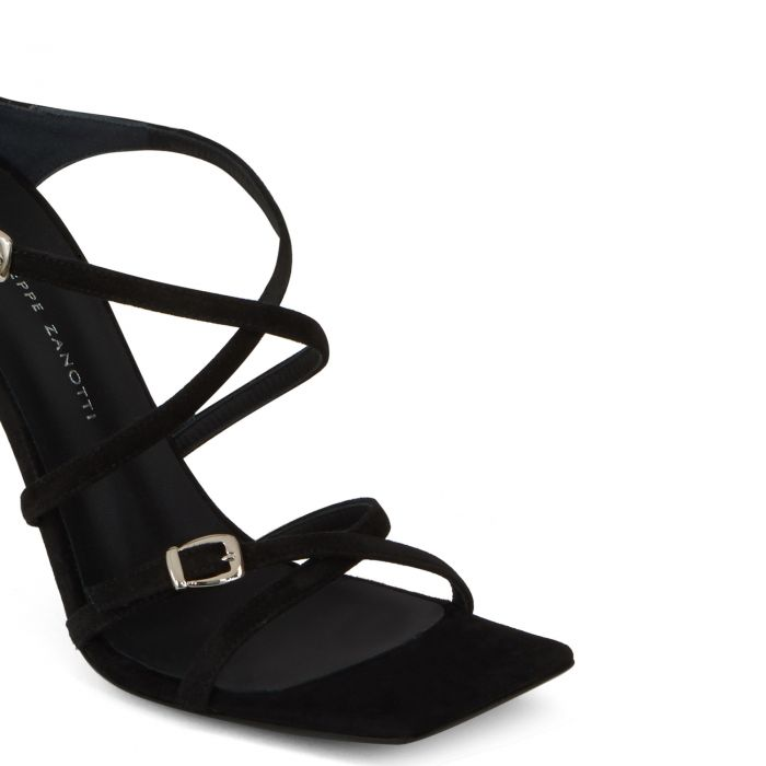 VANILLA SOFT PUNK - Black - Sandals