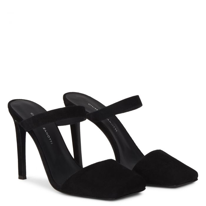 QUADRA - Black - Sandals