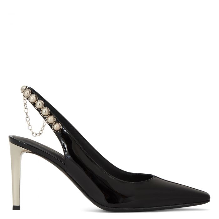 KURTNEY BACK - Black - Pumps