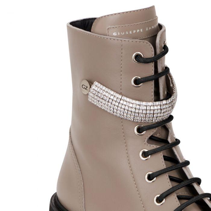 ALEXA CRYSTAL - Beige - Boots